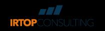 Logo IRTOPCONSULTING blu CYMK TRACCIATI